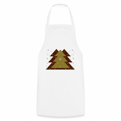 Weihnachten und Schnee - Kochschürze