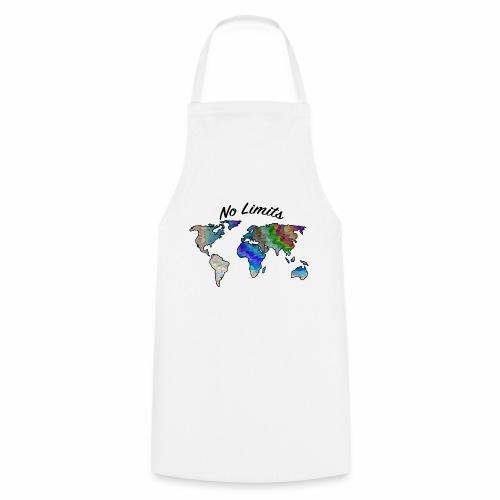 No Limits Weltkarte - Kochschürze