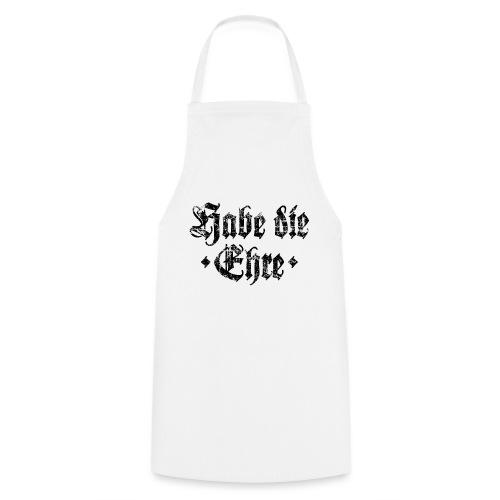 Habe die Ehre (Vintage/Schwarz) - Kochschürze