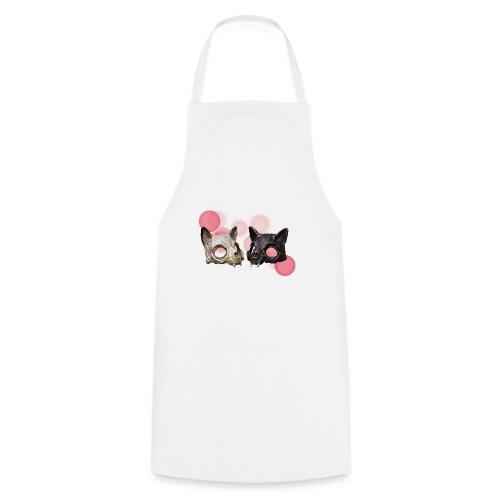 Yin-Yang-Katze - Kochschürze