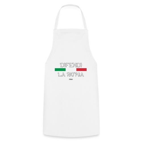 DIFENDI LA PATRIA - Grembiule da cucina