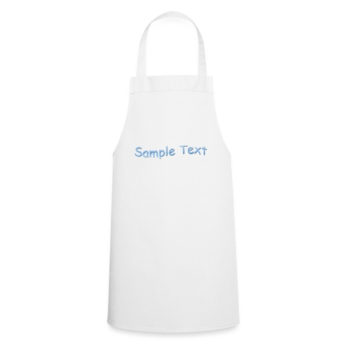 SAMPLE TEXT CAP - Cooking Apron