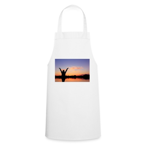 Praise, Vrijheid, Zonsondergang Pruduct - Keukenschort