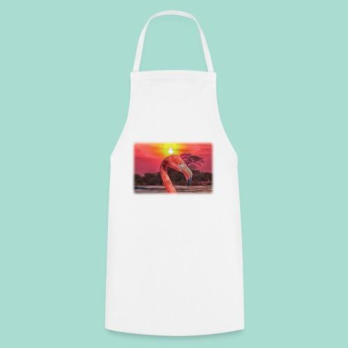 Rosa Flamingo - Kochschürze