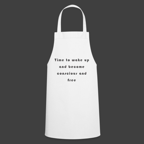 Time to wakeup - Cooking Apron