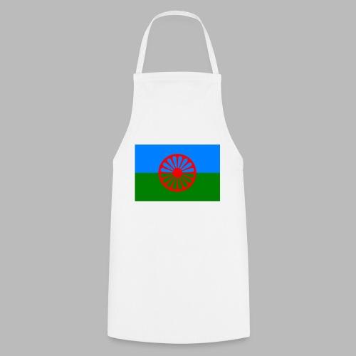 Flag of the Romani people - Förkläde