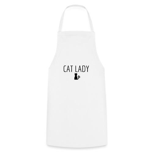 Tee shirt Cat Lady - Tablier de cuisine