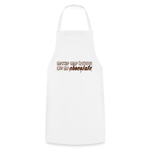make me happy give me chocolate T-Shirts - Delantal de cocina