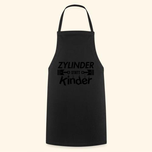Zylinder Statt Kinder - Kochschürze