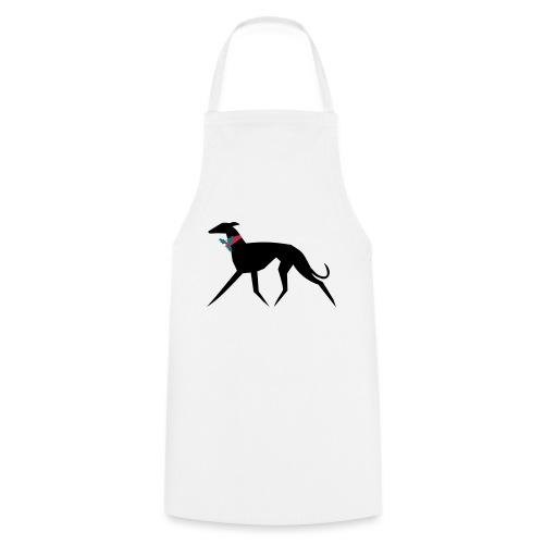 Weihnachtswindhund - Kochschürze