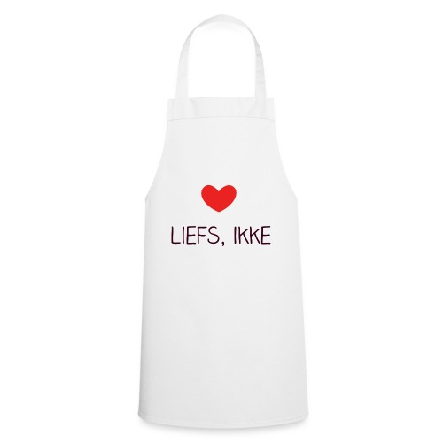 Liefs, ikke (kindershirt) - Keukenschort