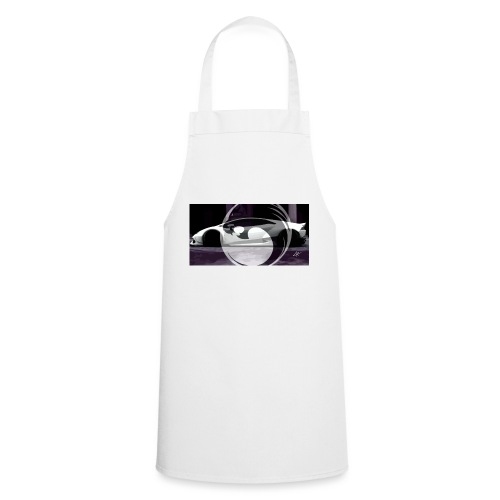lion black lyon design - Cooking Apron