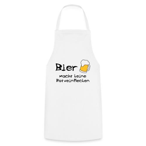 Bier macht keine Rotweinflecken - Kochschürze