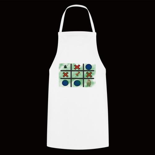 Tick, Tack, Toe (Joke Shirt) - Cooking Apron
