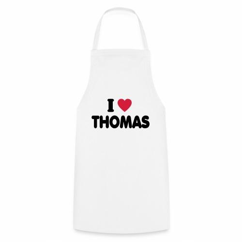 I love Thomas - Kochschürze