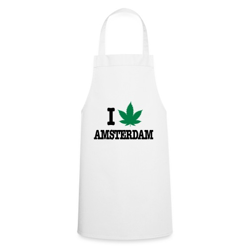I CANNABIS AMSTERDAM - Kochschürze