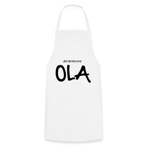 Jeg heter ikke Ola (fra Det norske plagg) - Kokkeforkle