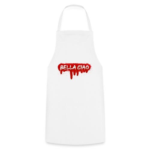 00288 Bella ciao rojo - Delantal de cocina