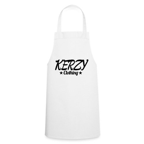 Official KerzyClothing T-Shirt Black Edition - Cooking Apron