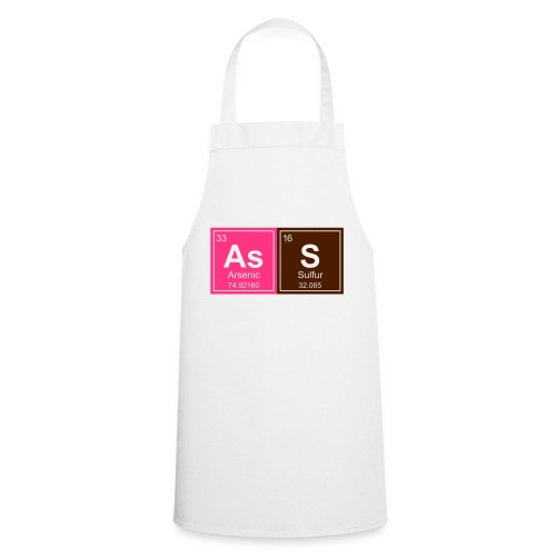 Geeky Ass Periodic Elements - Cooking Apron