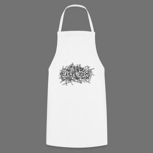 carpe diem (black) - Cooking Apron