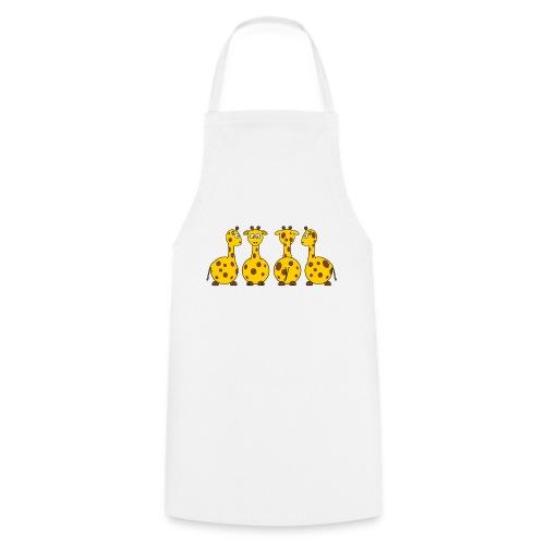 4 giraffen - Kochschürze