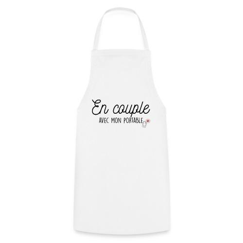 EN COUPLE AVEC MON PORTABLE - Tablier de cuisine