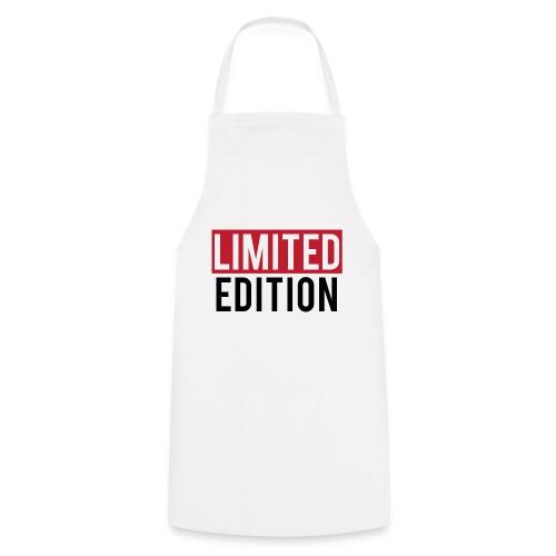 limited edition t shirt design text design - Grembiule da cucina