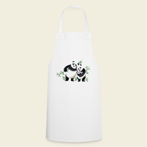 Pandafamilie Baby - Kochschürze