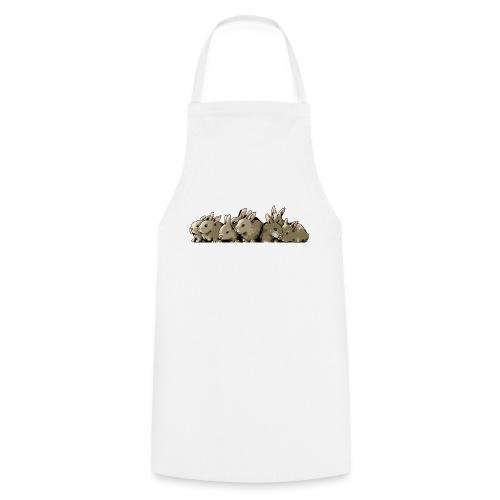 Lapins gris - Tablier de cuisine