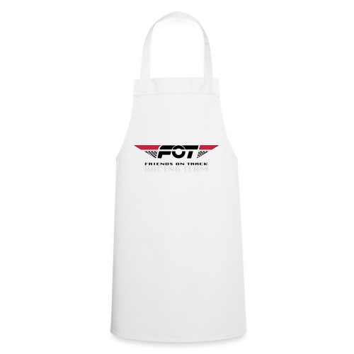 FOT Gross 01 roter HG - Kochschürze