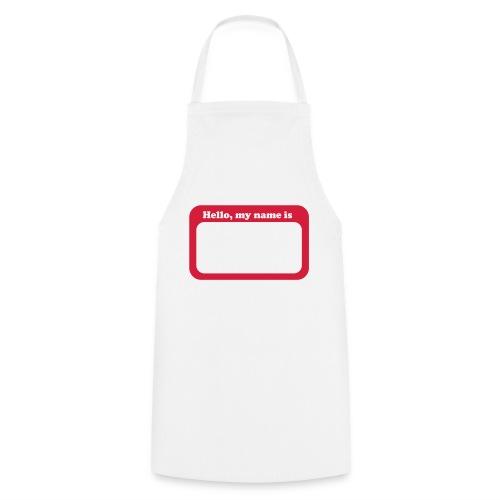 HelloMyNameTag - Grembiule da cucina