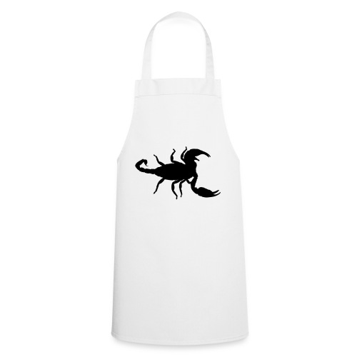 scorpion silhouette - Cooking Apron