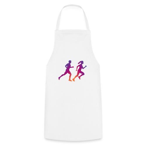 runner sport deporte correr influencer - Delantal de cocina