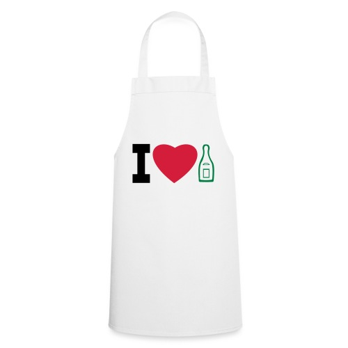i love champagne - Cooking Apron