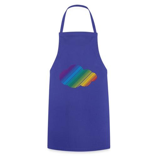 Regnbågsmoln - Förkläde