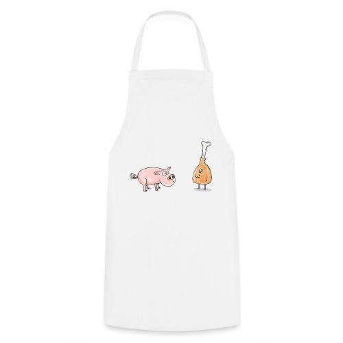 Le cochon et le jambon - Tablier de cuisine