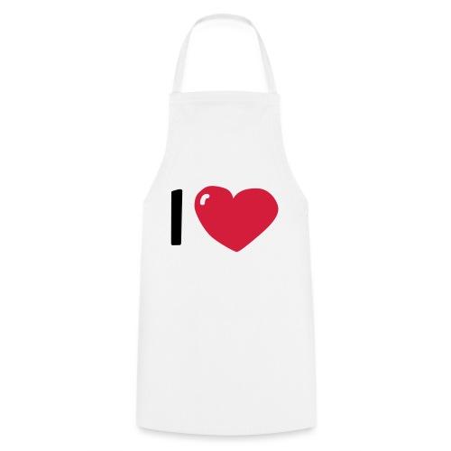 I love / I heart / I herz (Waldorf Style) - Kochschürze