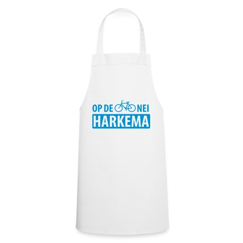 Op de fiets nei Harkema t-shirt vrouwen - Keukenschort