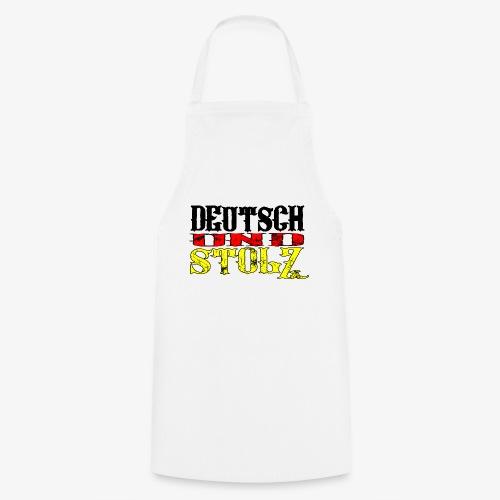 Deutsch und Stolz Deutschland - Kochschürze