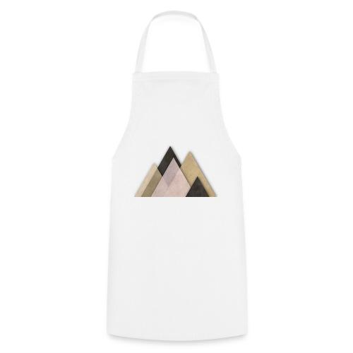 Berge abstrakt - Kochschürze