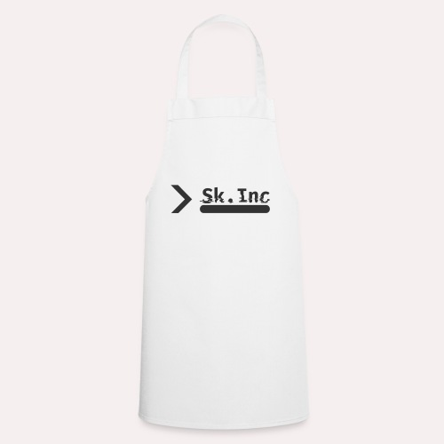 Skid-Inc Text - Tablier de cuisine