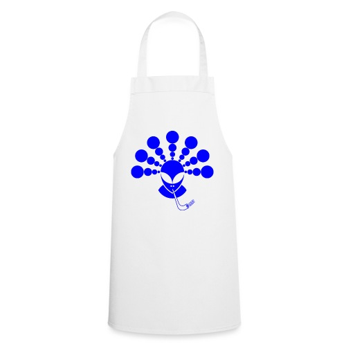 The Smoking Alien Blue - Cooking Apron
