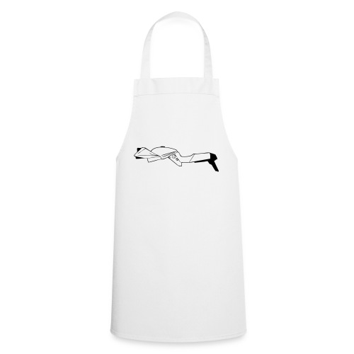 Katana motorcycle outline - Cooking Apron