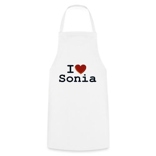 i love sonia - Fartuch kuchenny