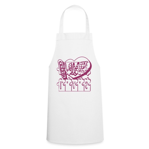 I Love heart tattoo - Cooking Apron