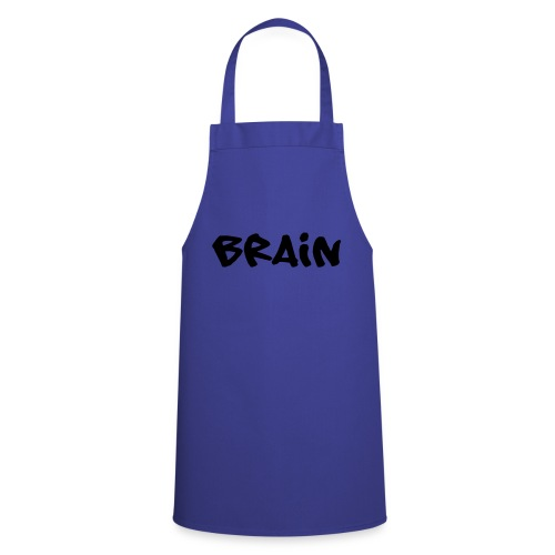 brain schriftzug - Kochschürze