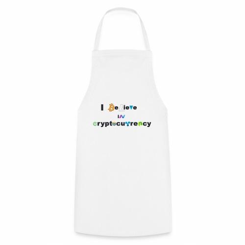 I believe in Cryptocurrency Stofftasche Kyptowähr - Kochschürze