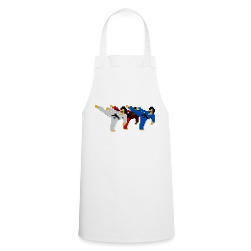 8 bit trip ninjas 2 - Cooking Apron