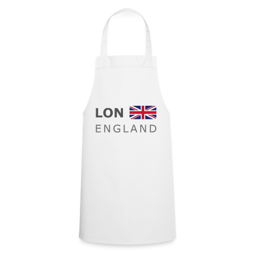 LON ENGLAND BF dark-lettered 400 dpi - Cooking Apron